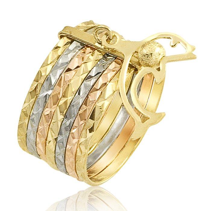 18k Gold Plated Dolphin Wedding Men Ring SR130